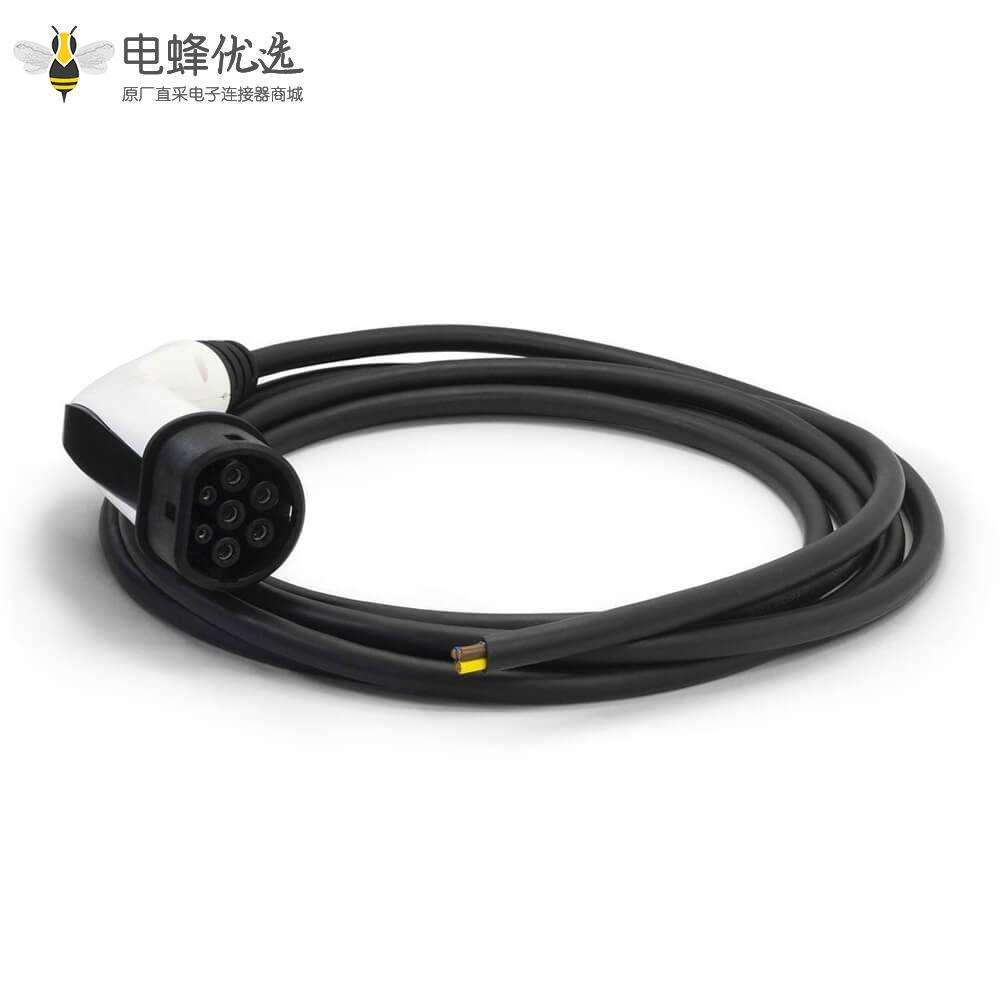 欧标充电枪直流充电线新能源电动车充电插头带线