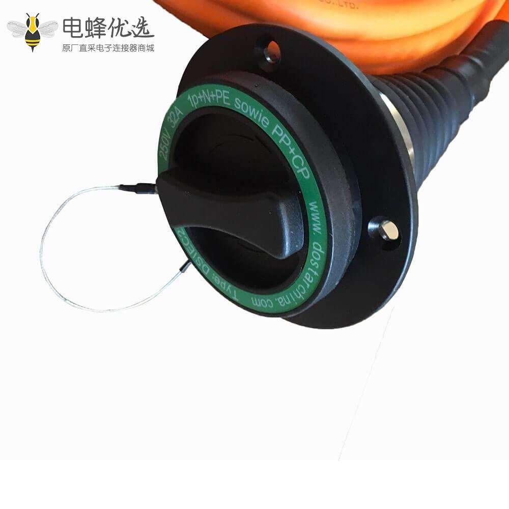 欧标直流充电枪 充电线电动汽车充电线32A