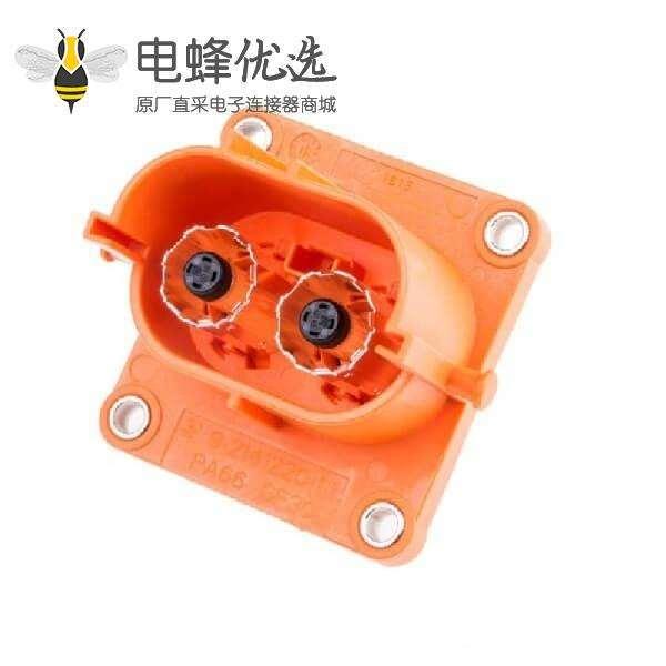 高压插座250A 2芯防水防火座子