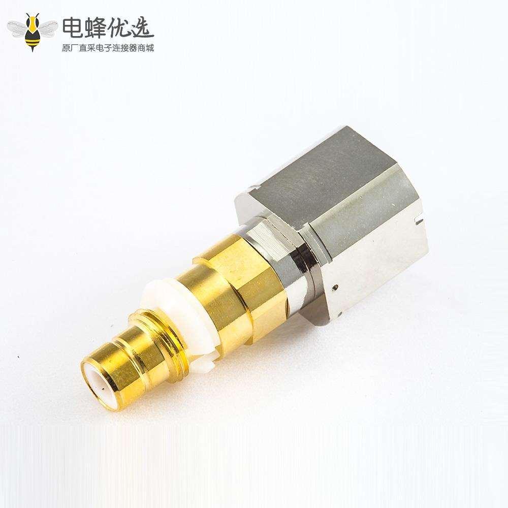 SMZ(BT43)连接器公头直式焊接电缆镀金和镍层