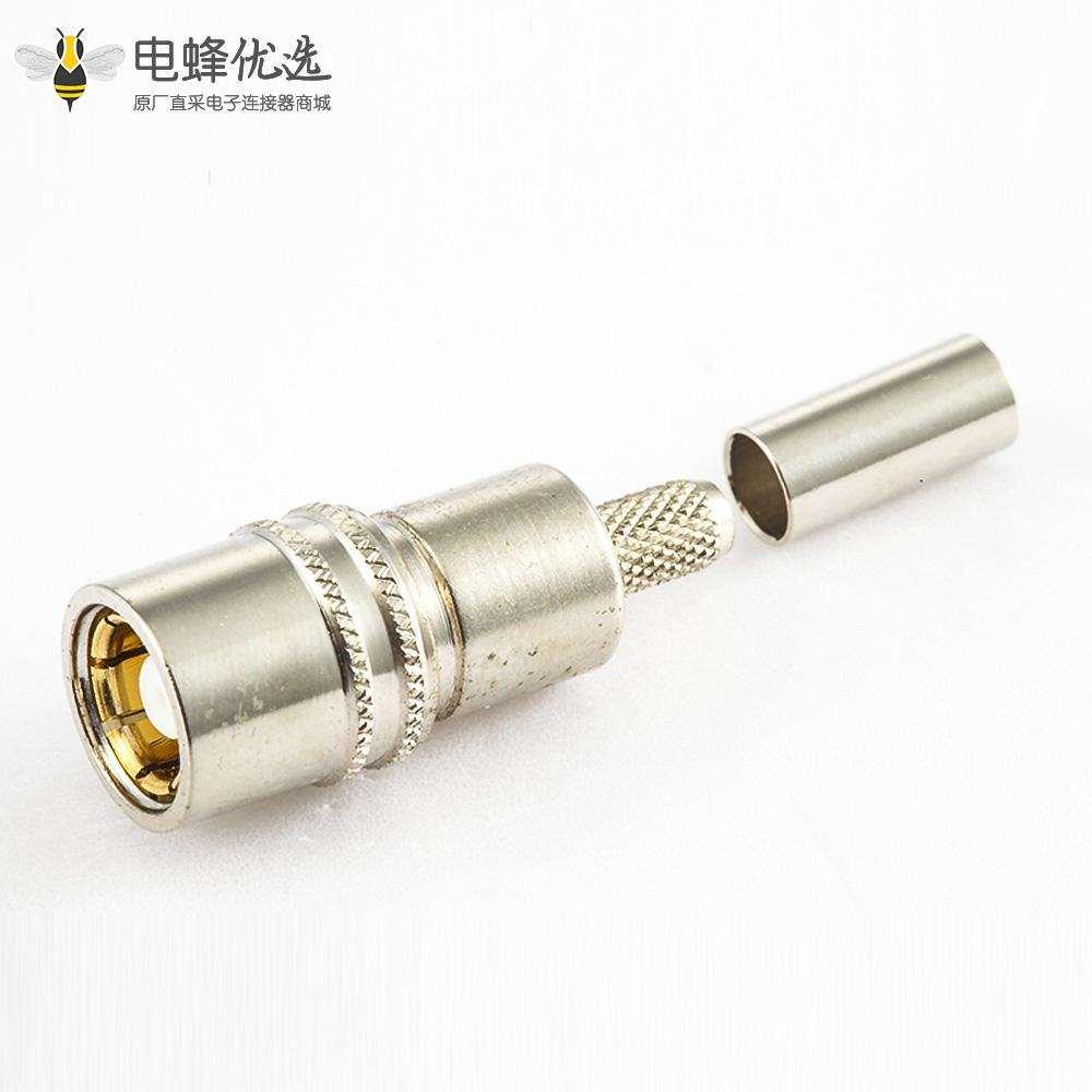 SMZ(BT43)连接器母头直式压接2.3电缆