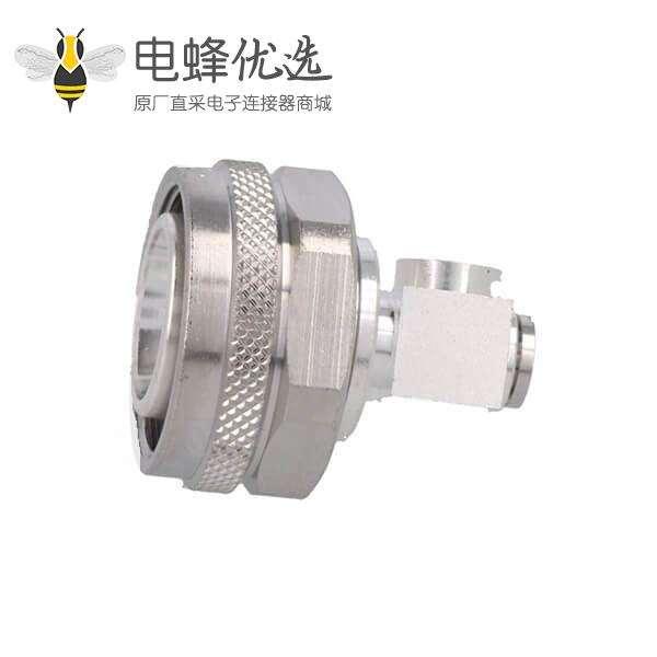 4.3-10角度90°插头公头接线50ΩIP67防水级