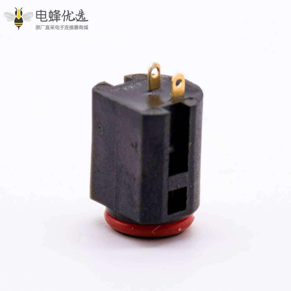 防水电源座可达3A电流焊线插板内径3.65mm