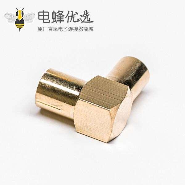 PAL接口转接头PAL公转母RF连接器直角镀金
