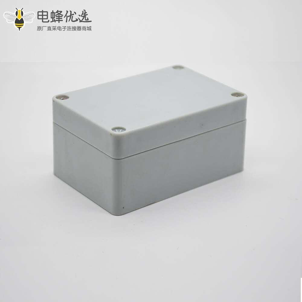 ABS塑料防水接线盒矩形100×68×50螺丝固定