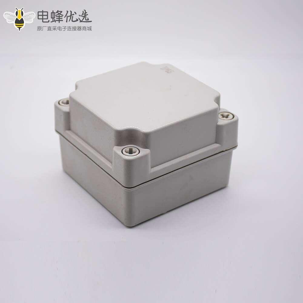 塑料防水密封盒100×68×50间距83×83ABS塑料螺丝固定