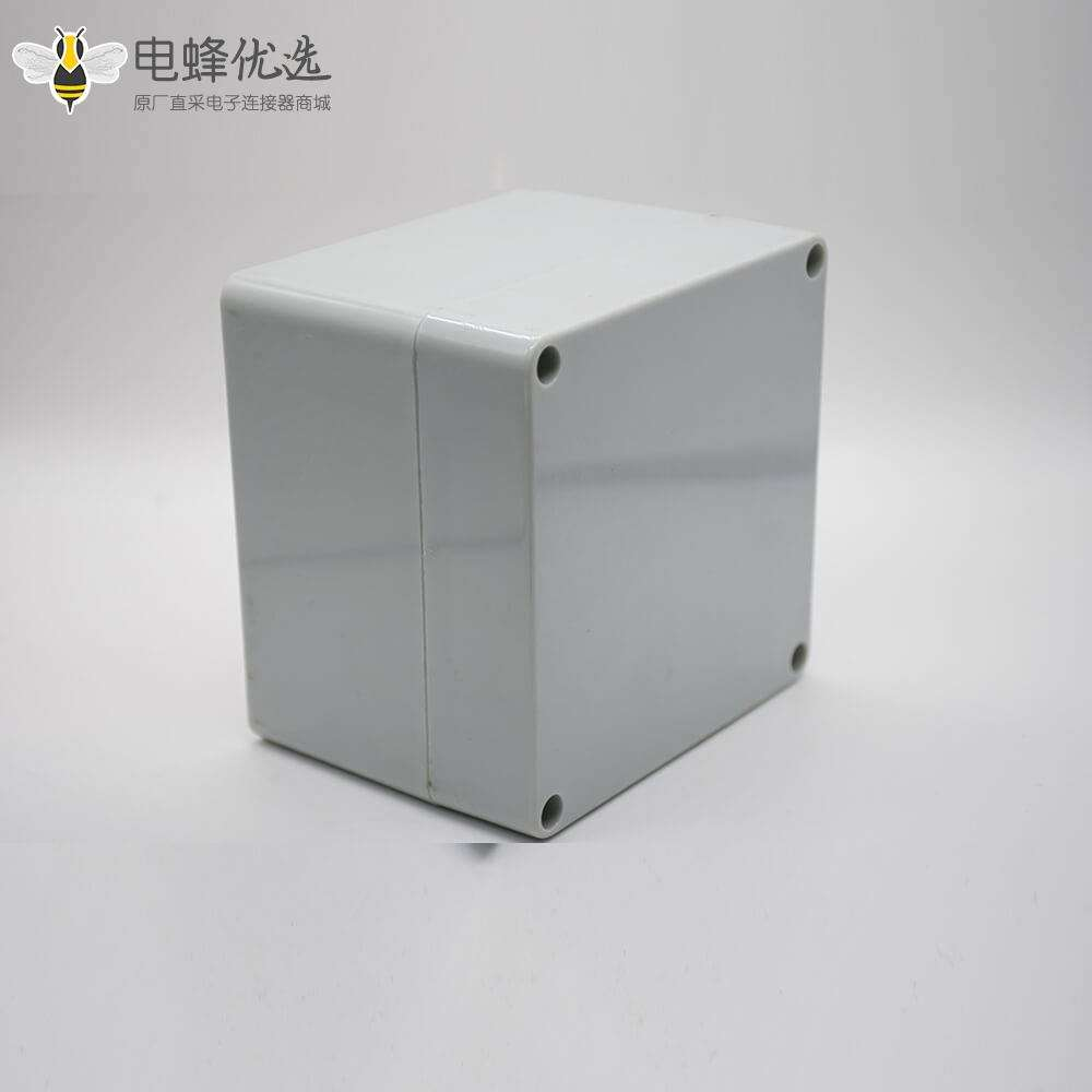 防水盒密封箱矩形120×120×90螺丝固定ABS塑料接线盒