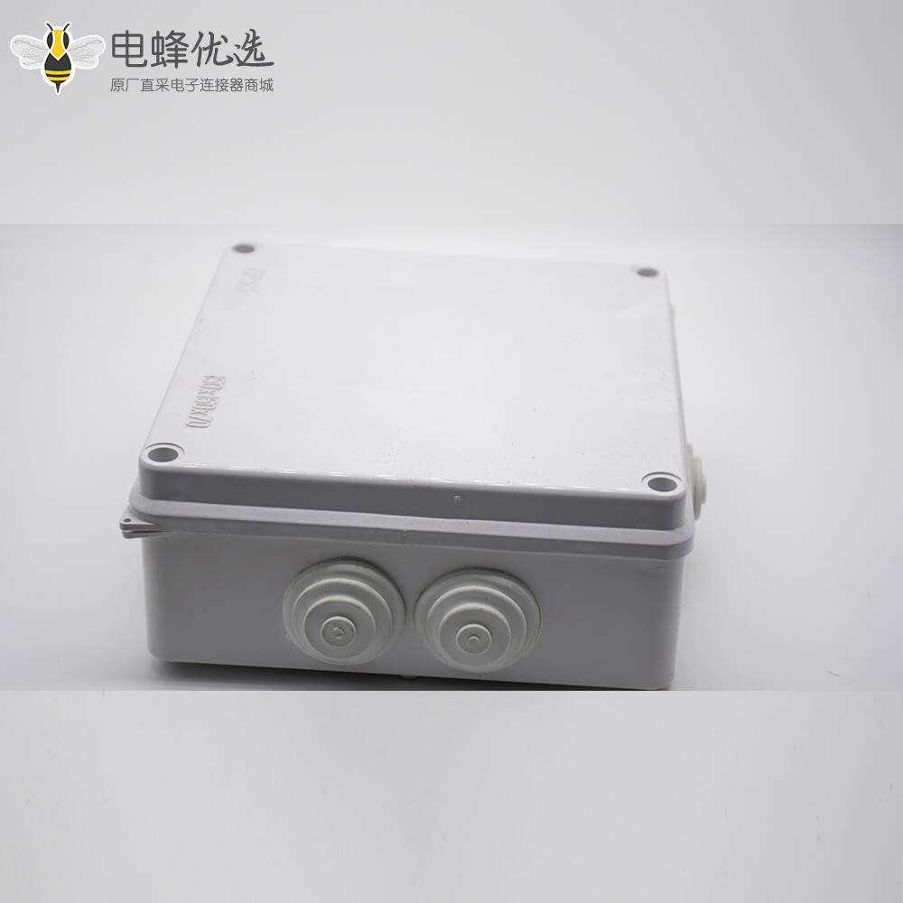 防水密封分线盒IP55螺丝固定150×150×70 ABS塑料