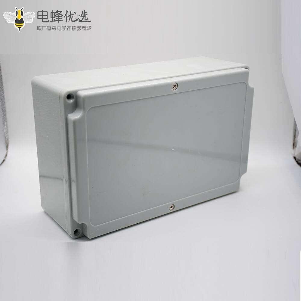 电缆防水接线盒150×230×85螺丝固定ABS塑料密封箱