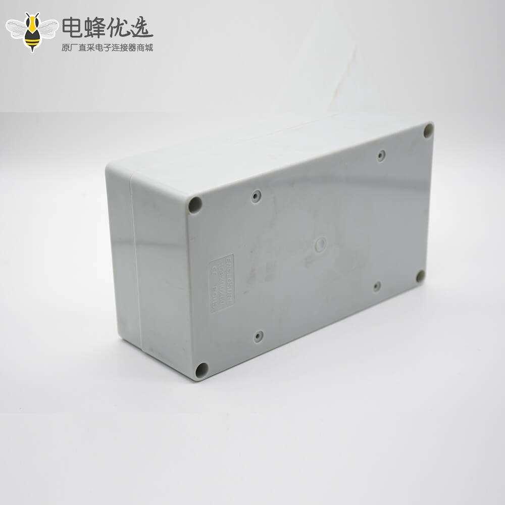 电缆防爆接线盒158×90×60螺丝固定ABS塑料防水盒