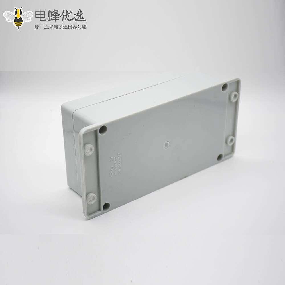 塑料防水接线盒ABS塑料带耳螺丝固定尺寸160×90×60