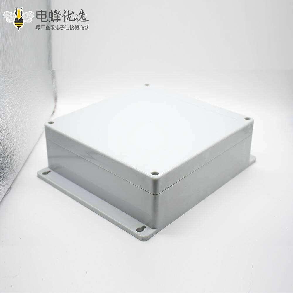 防水塑料接线盒ABS塑料螺丝固定壳体尺寸190×188×70