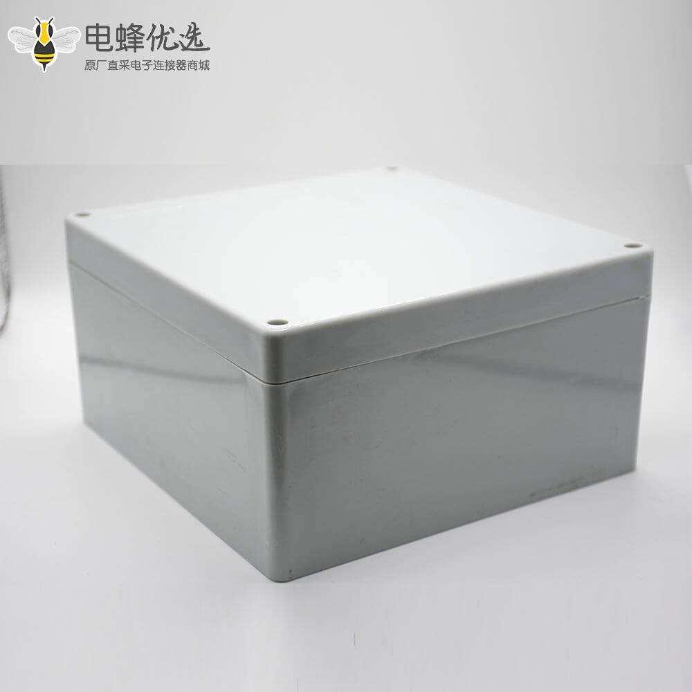 电缆防水接线盒190×188×100螺丝固定ABS塑料防水盒