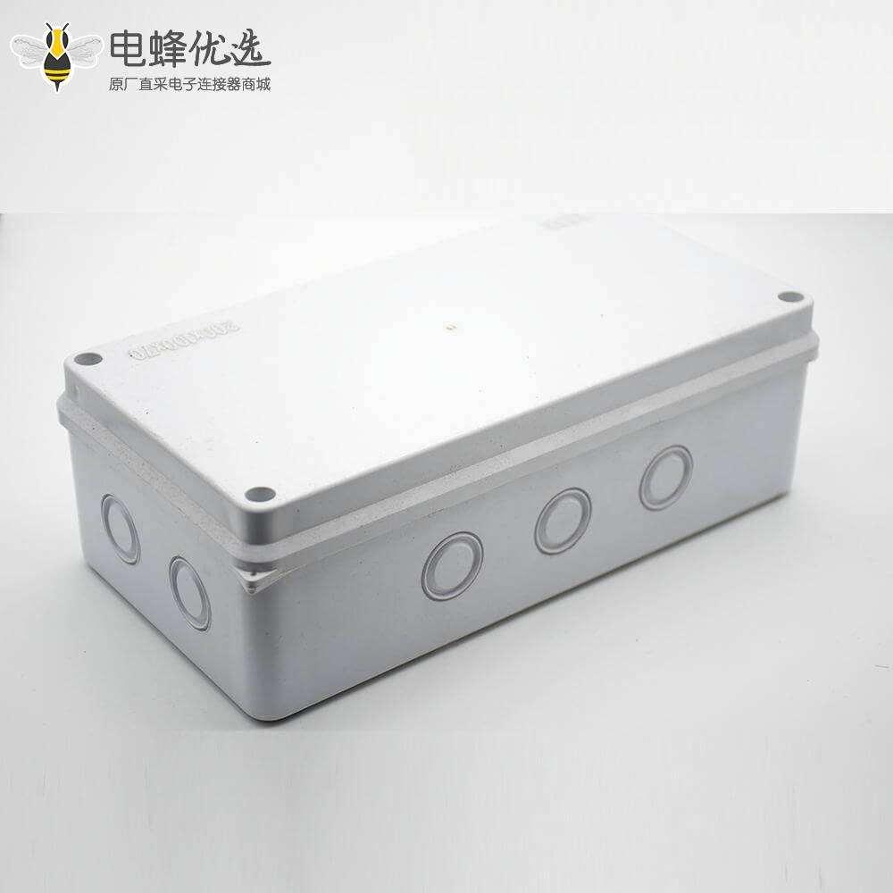 防水防尘接线盒IP55螺丝固定ABS塑料外壳尺寸200×100×70