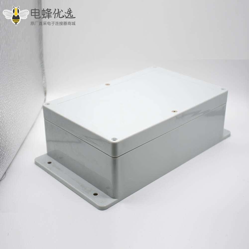 塑料外壳防水接线盒螺丝固定ABS塑料壳体尺寸230×150×85