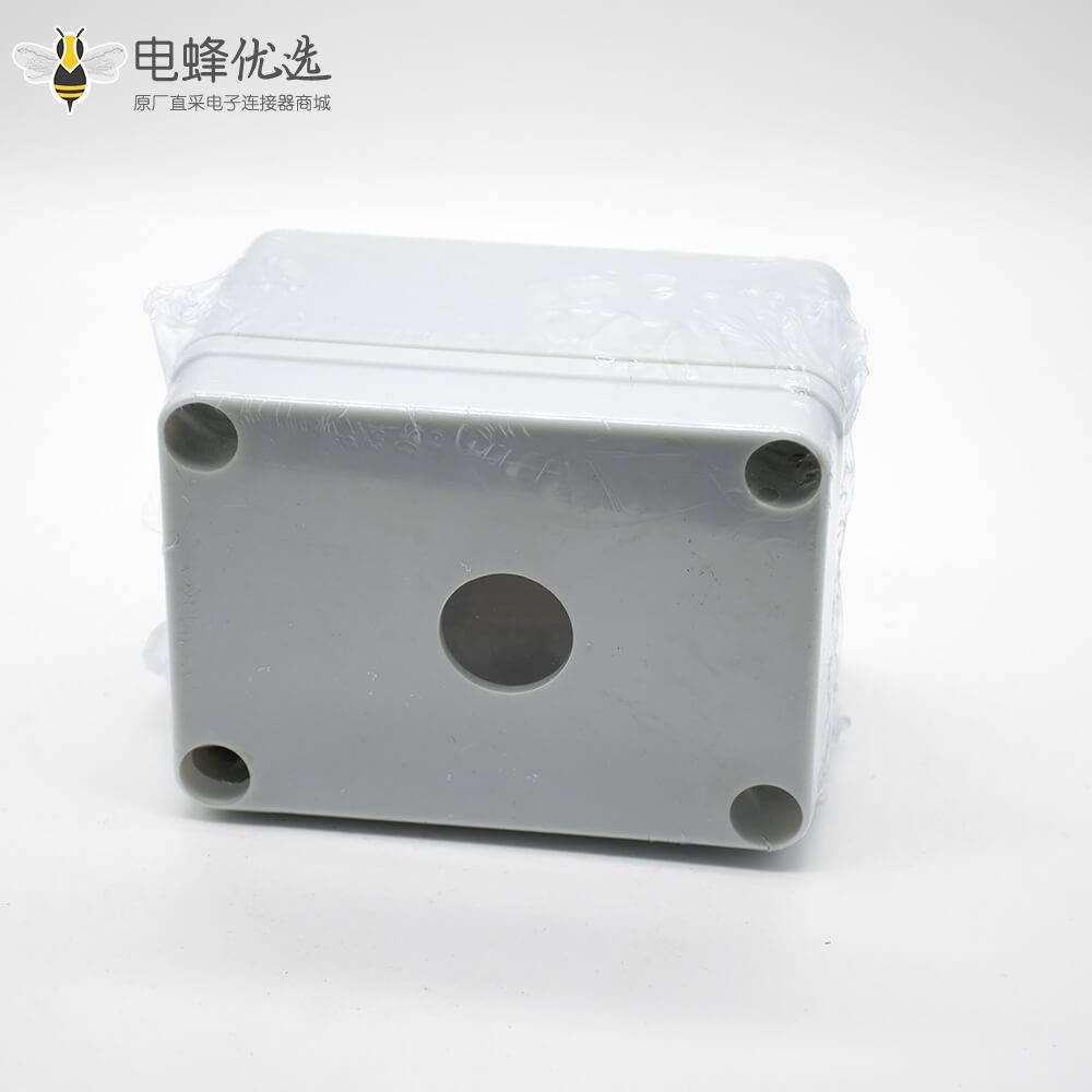 电缆线接线盒可定制2孔矩形ABS塑料螺丝固定