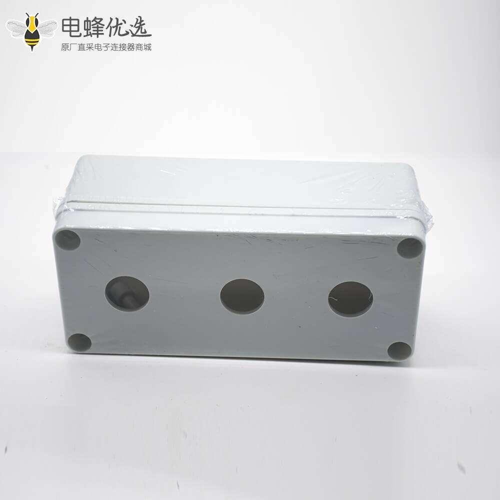 塑料接线盒固定螺丝可定制3孔ABS塑料防水盒