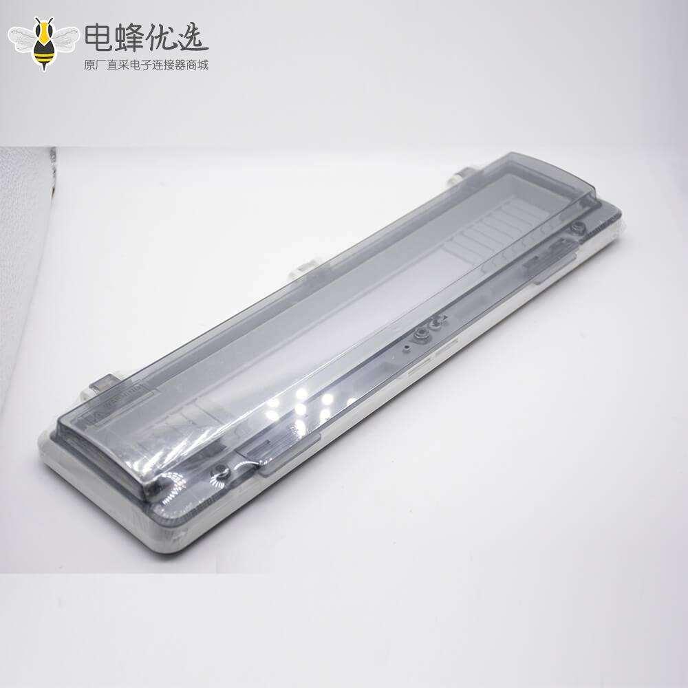 配电箱透明保护窗罩螺丝固定带透明盖IP67防水塑料外壳