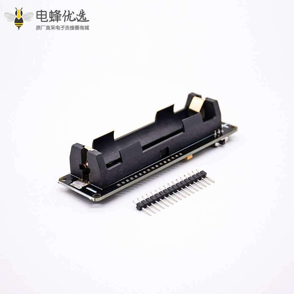 迷你WIFI模块D1 WEMOS ESP-WROOM-02主板 ESP8266+18650电池套