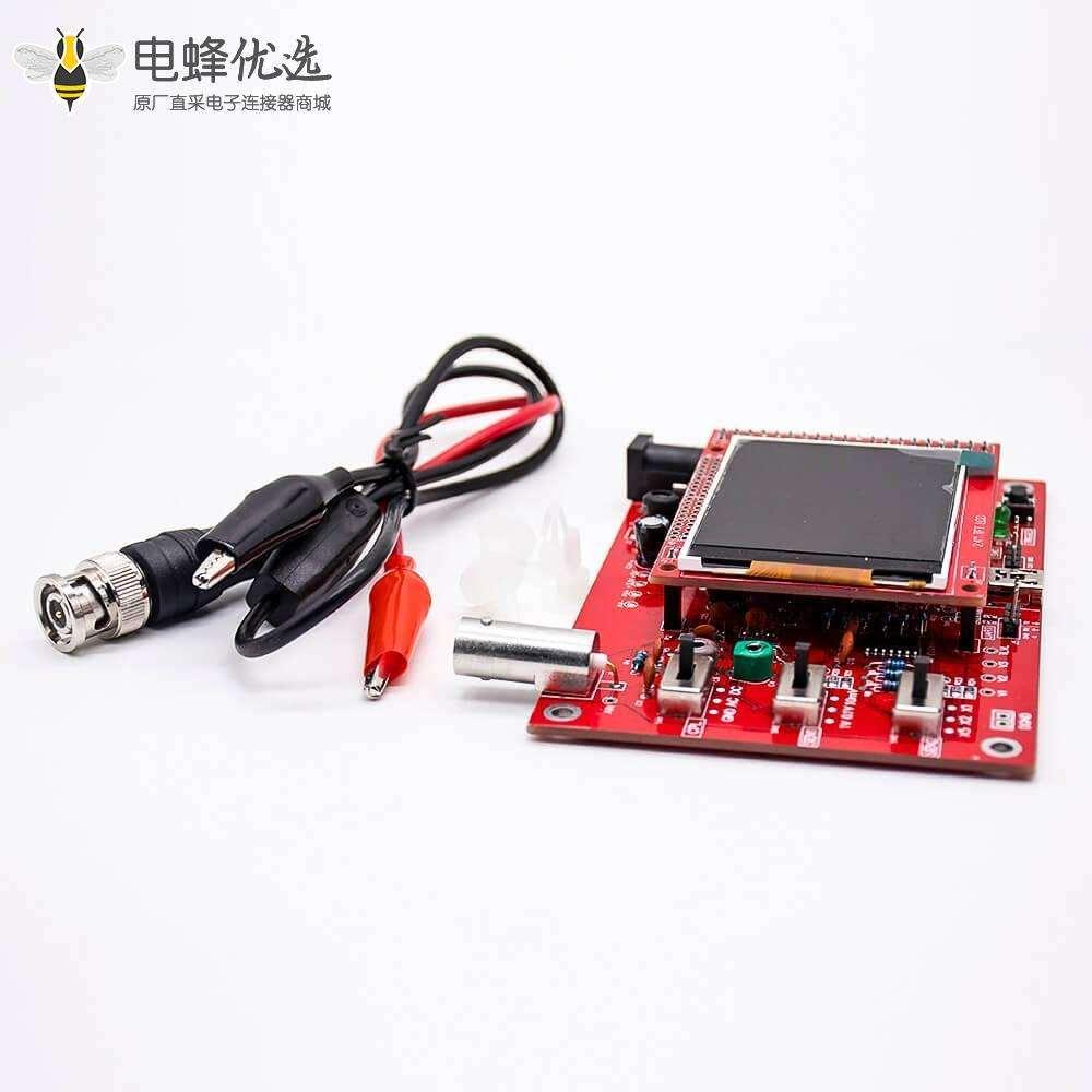 数字示波器DIY套件DSO138 带2.4英寸TFT屏幕PCB安装开源STM32示波器