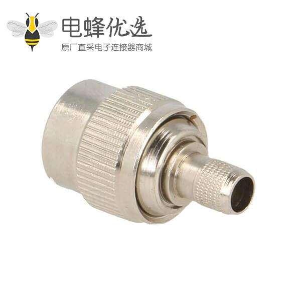 TNC公头反向直式50ΩH155压接接线