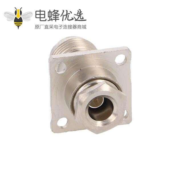 TNC座子母头50ΩRG58锁接用于面板安装