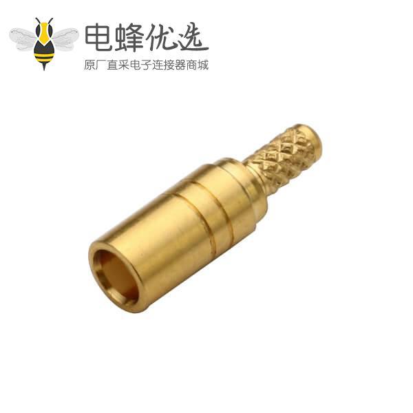 低损耗射频电缆RG316直式压接式mcx连接器母头