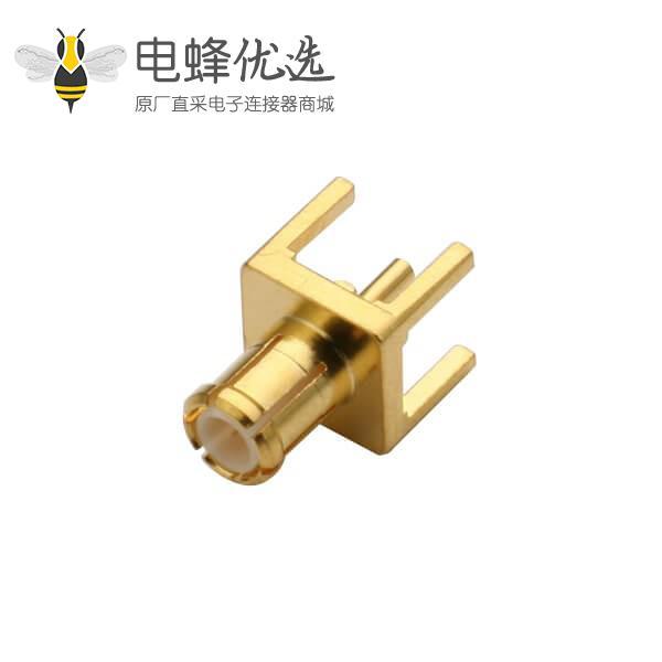 电视线 接头直插式mcx公头连接器PCB板端