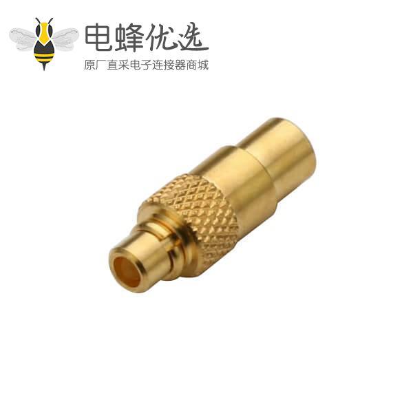 射频线视频线UT047 mmcx直式焊接连接器公头