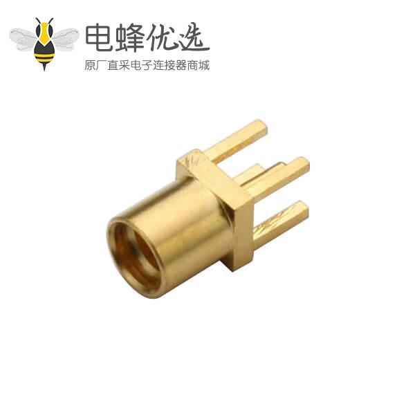 射频接头母头mmcx连接器母头直插式PCB板