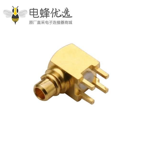 板端连接器mmcx 弯插式PCB公头