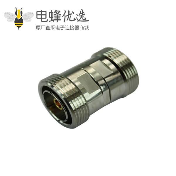 国内连接器DIN7/16圆形直式母头转接母头