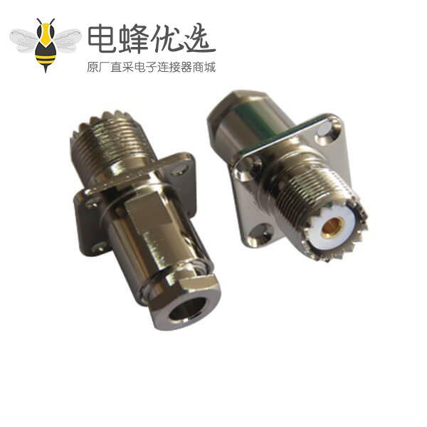 射频同轴电缆RG8 LMR200螺母连接母头UHF连接器