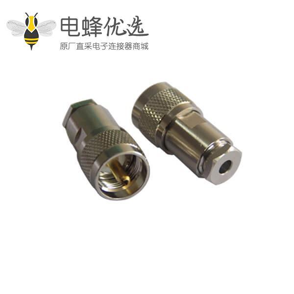 射频同轴电缆连接器uhf公头接线LMR300 LMR600