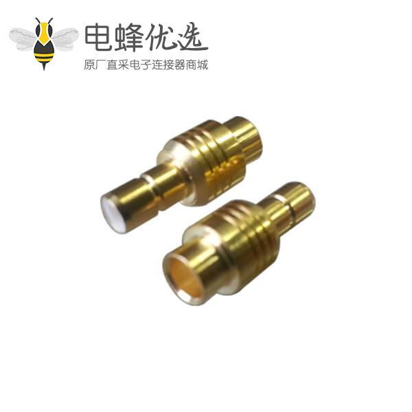 有线电视同轴线缆RG402直式焊接smb连接器母头