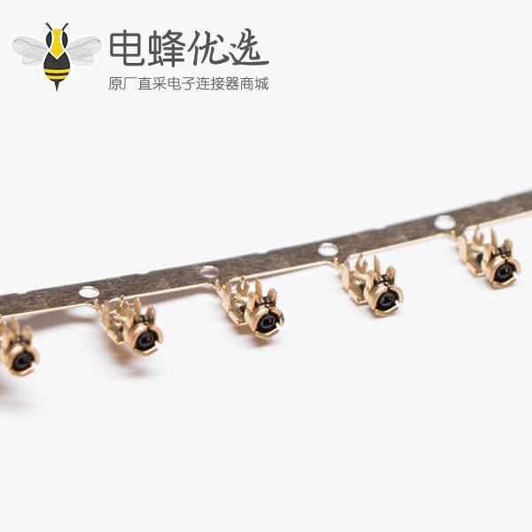 MHF连接器(IPEX)Ⅰ插头接RF1.13同轴线缆