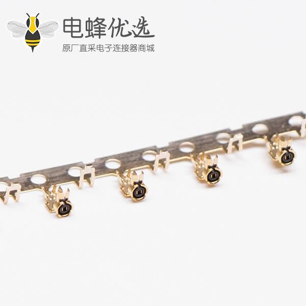 IPEX 射频接头接同轴电缆线RF0.81