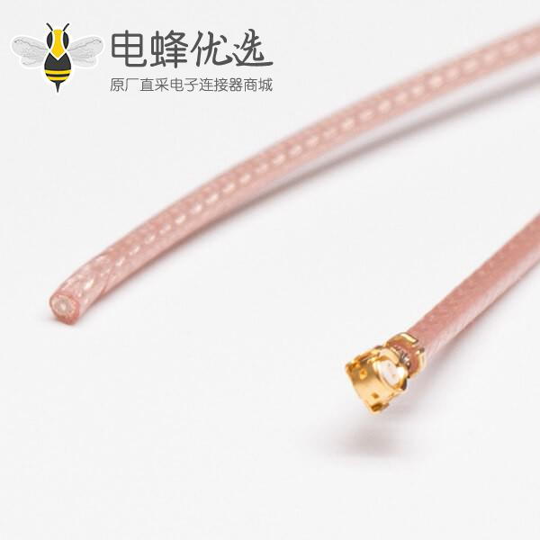 同轴射频线材RG178棕色单头IPEX连接器+TD