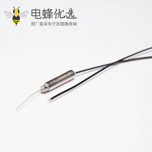 wifi 铜管天线2.4G内置天线焊灰色同轴线RF1.13+TD