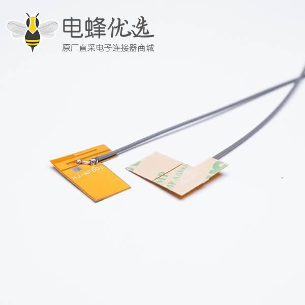 fpc wifi天线内置天线2.4G焊黑色同轴线缆RF1.13+TD