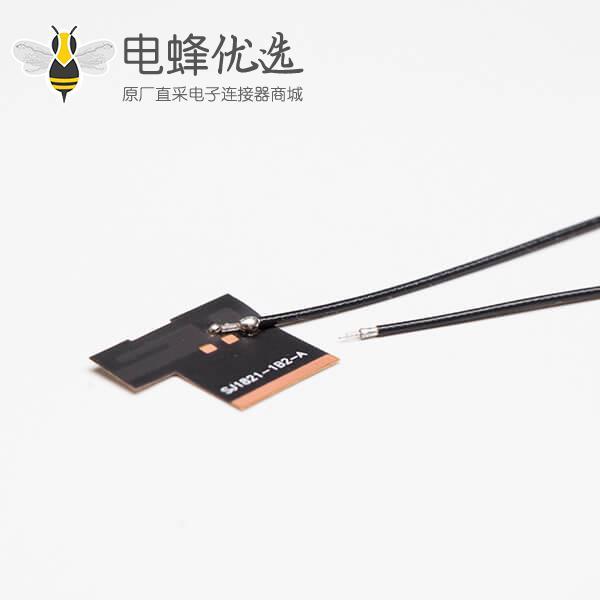 FPC 天线板内置天线2.4G焊接黑色同轴线RF 1.13+TD