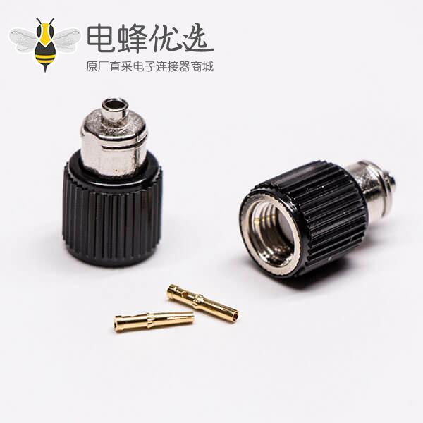 数字电视接头直式焊接sma连接器线缆RG178