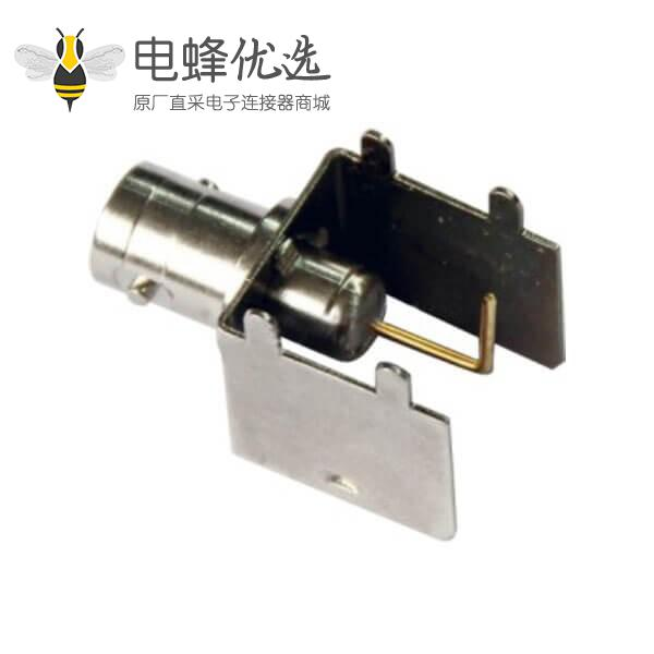 rf射频同轴连接器 BNC弯式母头 PCB