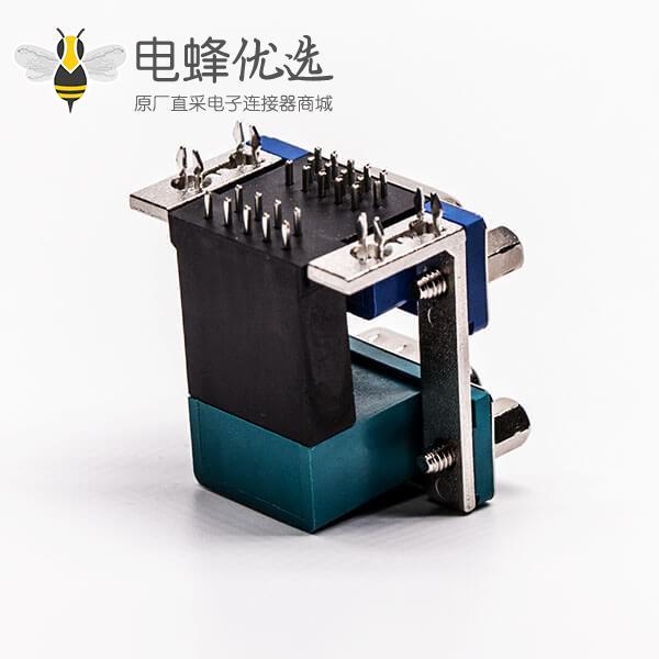 双胞胎db头弯式连接器9公针15母针3.08铆锁5.8螺丝