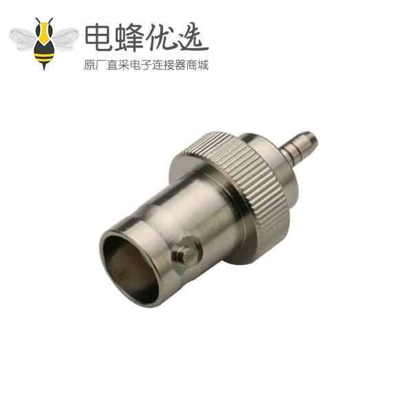 直式焊接射频同轴BNC 母头50欧 电缆连接器