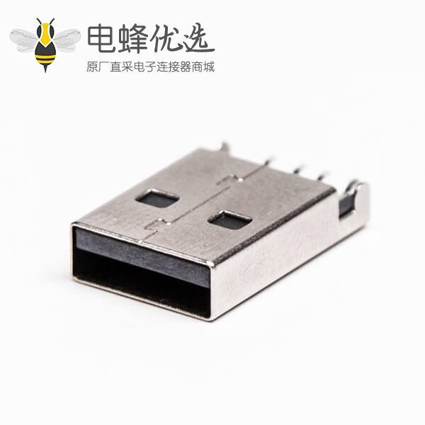 usb type a 公头90度SMT沉板接PCB板