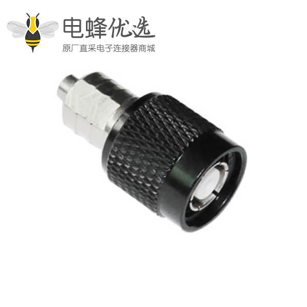 tnc连接头焊接直式反极插头 同轴线缆RG174