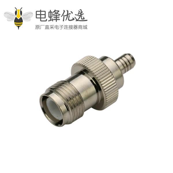 tnc型接头反极母头同轴线缆RG316 直式压接