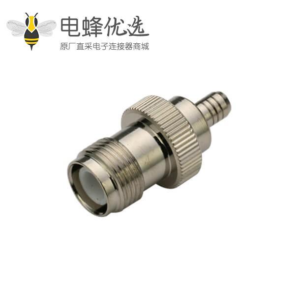 tnc 直式母头压接式 射频同轴线缆RG400