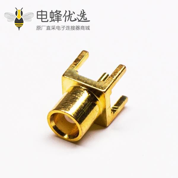 射频pcb连接器mcx母头直插式面板安装